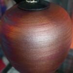 Raku Dreamcatcher Jar