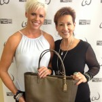 Michelle and Susie...Power of the Purse Donation