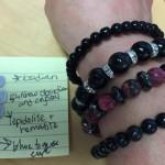 Scarf Gems...gemstone bracelets
