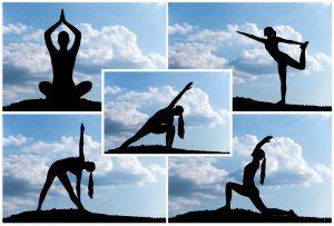 Yoga montage